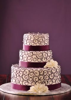 Gorgeous Modern Wedding Cakes