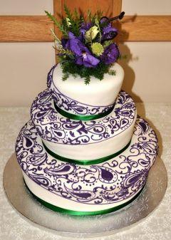 Unique Wedding Cake 1 Cakes